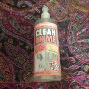 clean on me