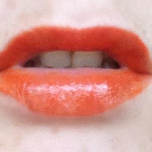 orangle lips