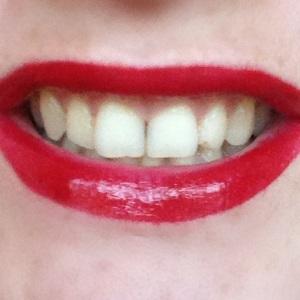 pin up smile