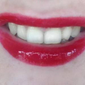 maleficent smile